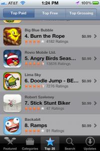 top ten app store